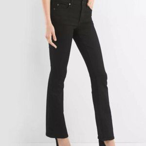 Gap 1969 Baby Boot 32 Tall Black Stretch Jeans